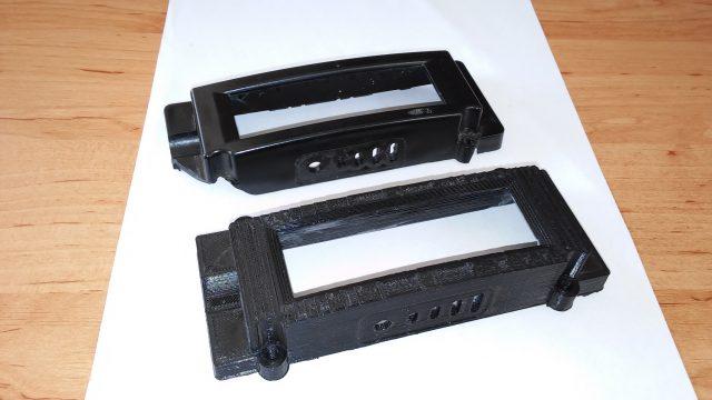 Tisk na zakázku - náhrada poškozeného krytu baterie na elektrokolo